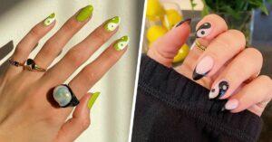Lee más sobre el artículo Diseños de uñas ying yang para darle equilibrio a tu estilo