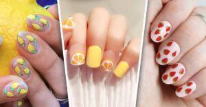 Lee más sobre el artículo 13 Diseños de uñas frutales a las que no te vas a resistir
