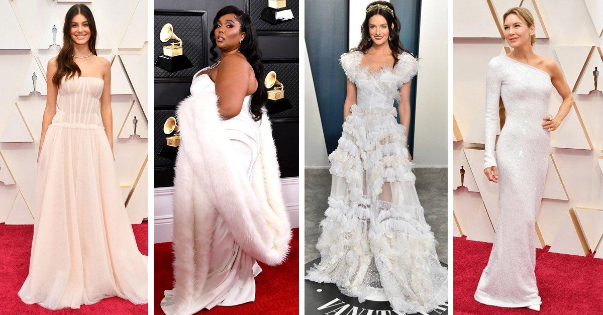 En este momento estás viendo Vestidos de famosas que pueden servir como vestido de novia