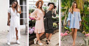 Lee más sobre el artículo Vestidos lindos que puedes usar con cualquier par de zapatos