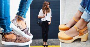 8 Tipos de zapatos para las que no les gusta usar sandalias