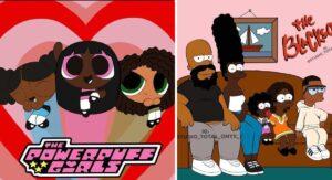 Artista cambió el color de piel de 16 famosas caricaturas para crear conciencia sobre el racismo