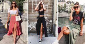Lee más sobre el artículo Looks frescos y lindos para sacar provecho de falda abierta
