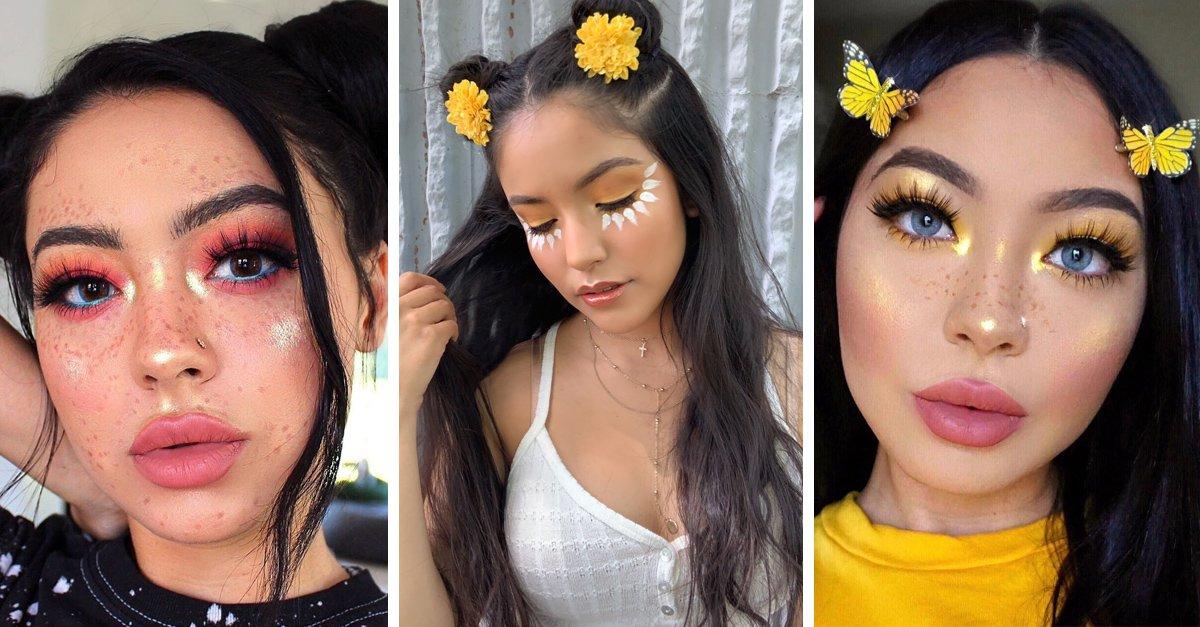 En este momento estás viendo 13 Maquillajes de primavera que te harán ganar seguidores