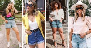 Lee más sobre el artículo 15 Ideas para usar unos lindos 'mom shorts' en primavera