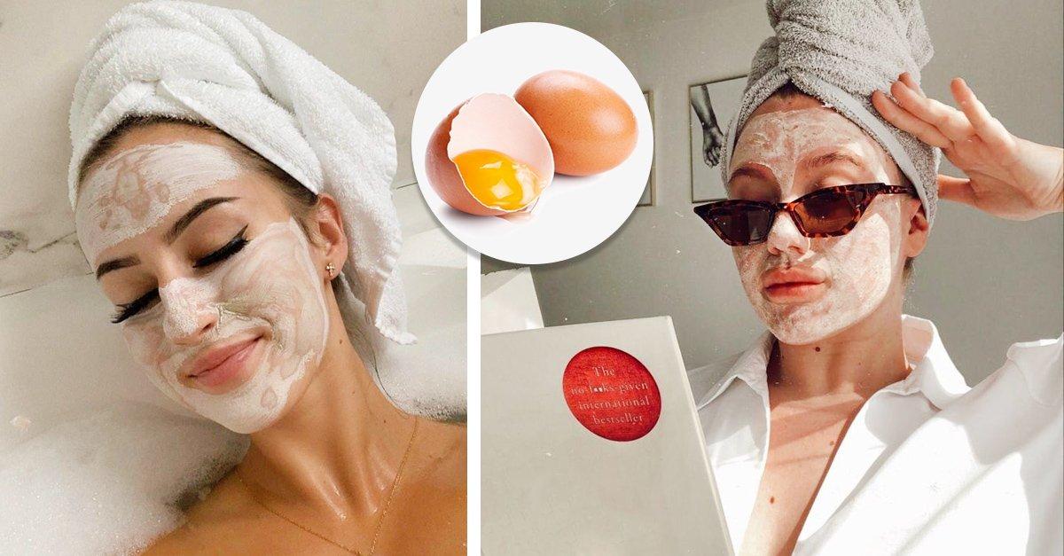 En este momento estás viendo 10 Sencillas mascarillas con huevo para embellecer tu piel