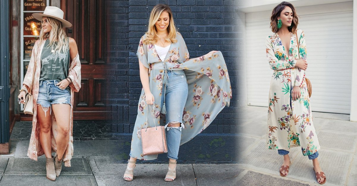 En este momento estás viendo 15 Maneras de llevar un kimono moderno y verte glamurosa