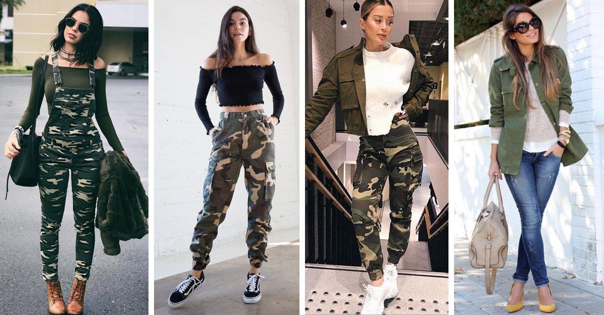 En este momento estás viendo 15 Maneras en las que puedes usar un 'outfit' muy militar