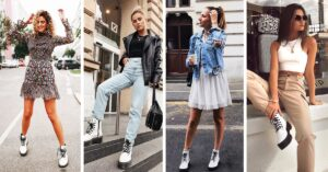 15 outfits para combinar tus fantásticas Dr. Martens blancas
