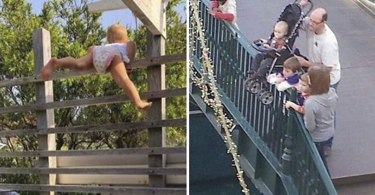 14 fotos que muestran a papás comportándose como unos completos idiotas. No deberían tener hijos