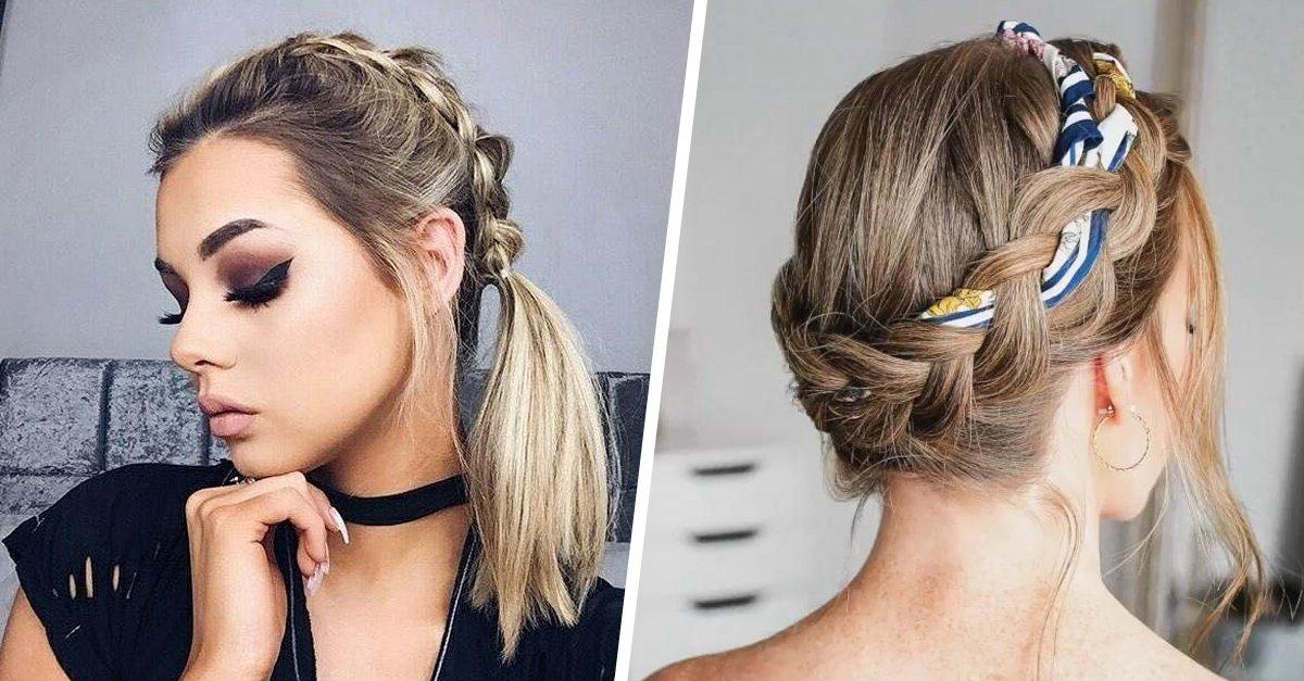 Peinados con cabello hasta el hombro para hacer en 5 minutos