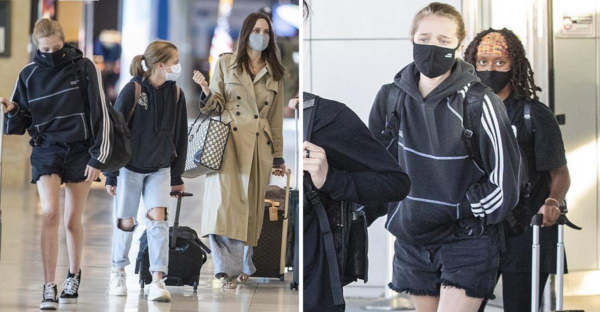 Shiloh Jolie-Pitt derrocha estilo con shorts mientras pasea con mamá Angelina y sus 5 hermanos
