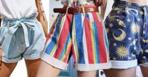 13 Shorts vintage para recibir el calor con mucho estilo