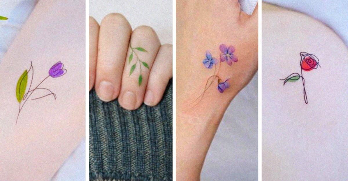 En este momento estás viendo 15 Diseños pequeños de flores para tu próximo tatuaje
