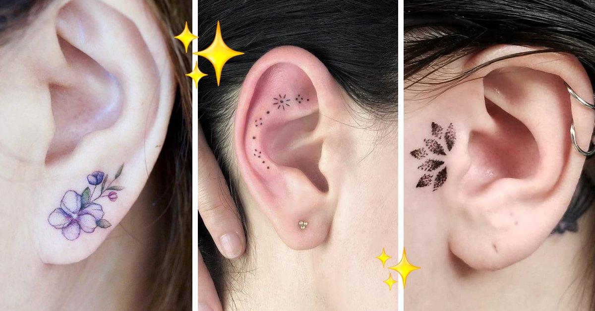 En este momento estás viendo 15 Hermosas ideas de tatuajes para darle color a tus oídos
