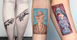 Lee más sobre el artículo Tatuajes inspirados en obras de arte para que te hagas uno
