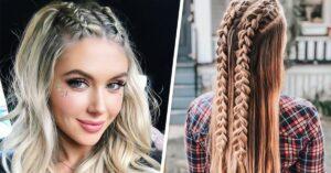 Lee más sobre el artículo 13 Trenzas con cabello suelto para verte como una modelo