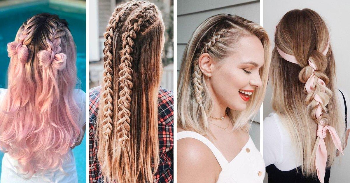 En este momento estás viendo 15 Trenzas con cabello suelto para verte linda y arreglada