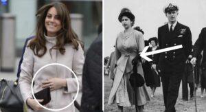 12 trucos que usan las mujeres de la corona británica para ocultar sus vientres de embarazo