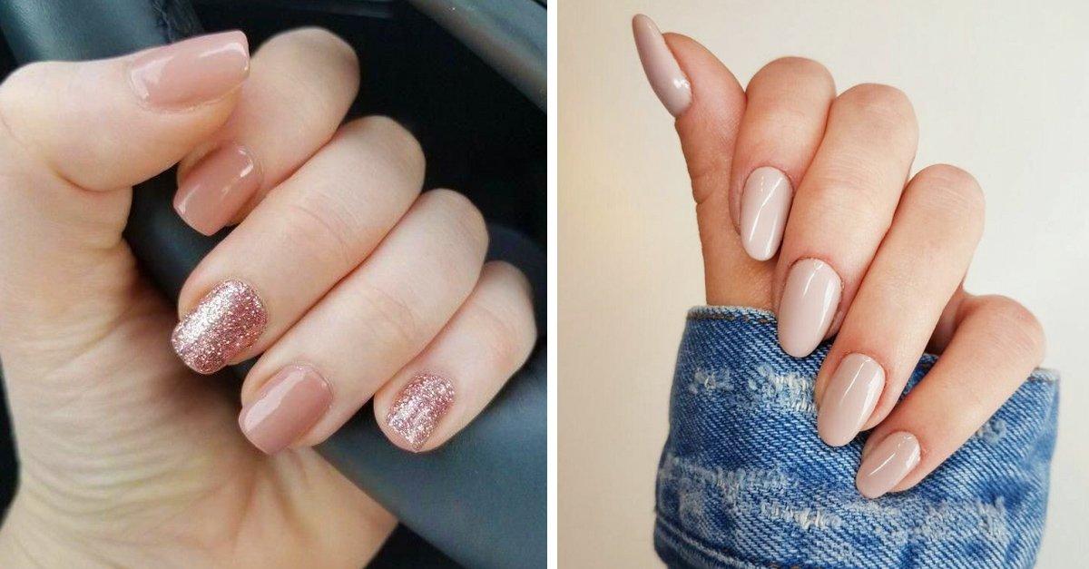 En este momento estás viendo 14 Ideas paras hacer del 'nude' tu color favorito de uñas