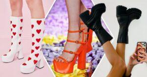 Lee más sobre el artículo Tacones con estilo Bratz que Versace está poniendo de moda